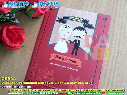 Undangan Pernikahan Softcover Lipat 3 Deasy Dan Arya Hub: 0895-2604-5767 (Telp/WA)undangan pernikahan, undangan softcover, undangan lipat, undanagan flat design, undangan cetak, undangan kertas, undangan unik, undagan murah #undanganunik #undangansoftcover #undaganmurah #undanaganflatdesign #undanganlipat #undanganpernikahan #undangankertas #souvenir #souvenirPernikahan