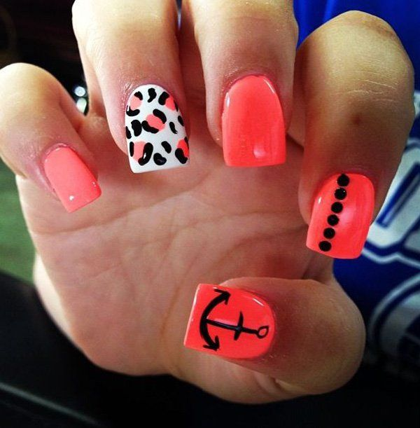 50 Cheetah Nail Designs - Best 25+ Cheetah Nail Designs Ideas On Pinterest Coral Nail