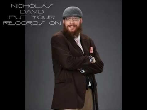 Nicholas David - Put Your Records On ( The Voice America Season 3) Studio Version