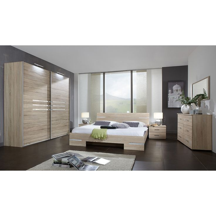 Stunning Schlafzimmer Set Anna x mit Schwebet ren Schrank Eiche s gerau Jetzt bestellen unter https