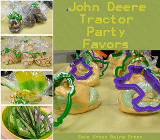 John Deere Tractor Theme Birthday Party for kids, green and yellow