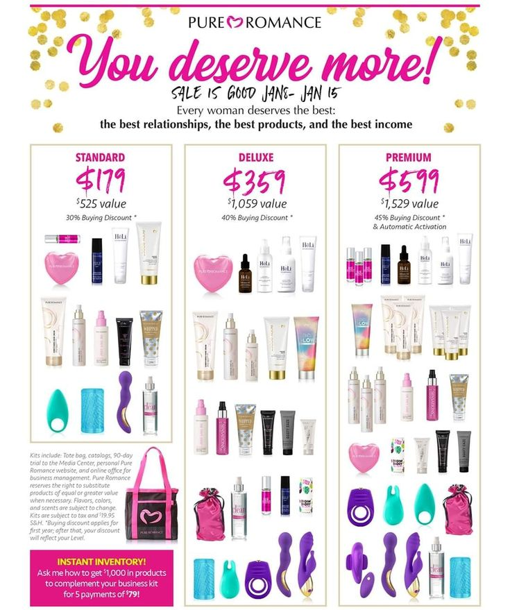 AllyssawithPureRomance in 2020 Pure products, Pure