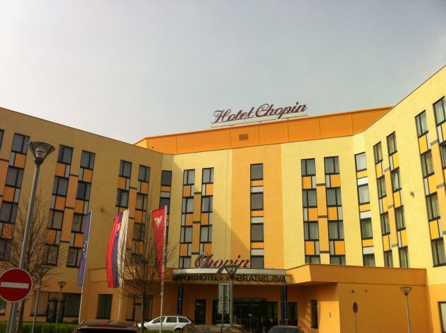 The Chopin Hotel in Bratislava ©www.englishmaninslovakia.co.uk