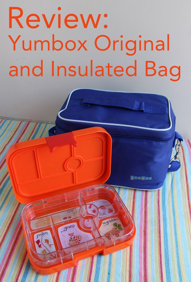 Review and giveaway the updated yumbox original and new yumbox bag