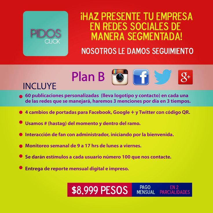 Tu negocio necesita estar en redes sociales para tener presencia y por medio del buen contenido de tus productos y/o servicios puedan generarse ventas para tu empresa.   #mexico #pymes #minegocio #redessociales #jefe #dueño #emprendiendo #emprendedor #Facebook #Instagram #2014 #agosto #DF #creditos #micronegocio #ventas #pastelerias #boutique #Cancun #PlayadelCarmen #Tulum #hotel #Puebla #estetica #mensual #restaurante #condesa #wtcmx