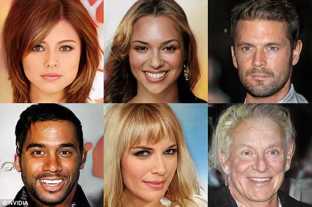 awesome Creepy video shows AI-made faces of 'fake' celebrities