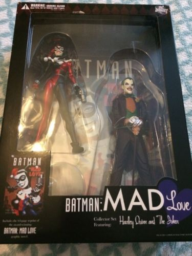 Dc #collectables - #batman mad love 2 pack #harley quinn and the joker original,  View more on the LINK: http://www.zeppy.io/product/gb/2/172494558540/