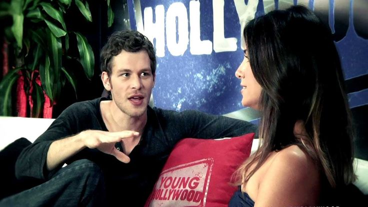 Joseph Morgan is so attractive. And this is the cutest interview ever.