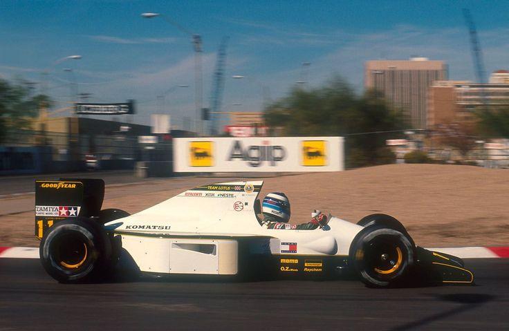 Mika Hakkinen, Lotus-Judd 102B, 1991 United States GP, Phoenix