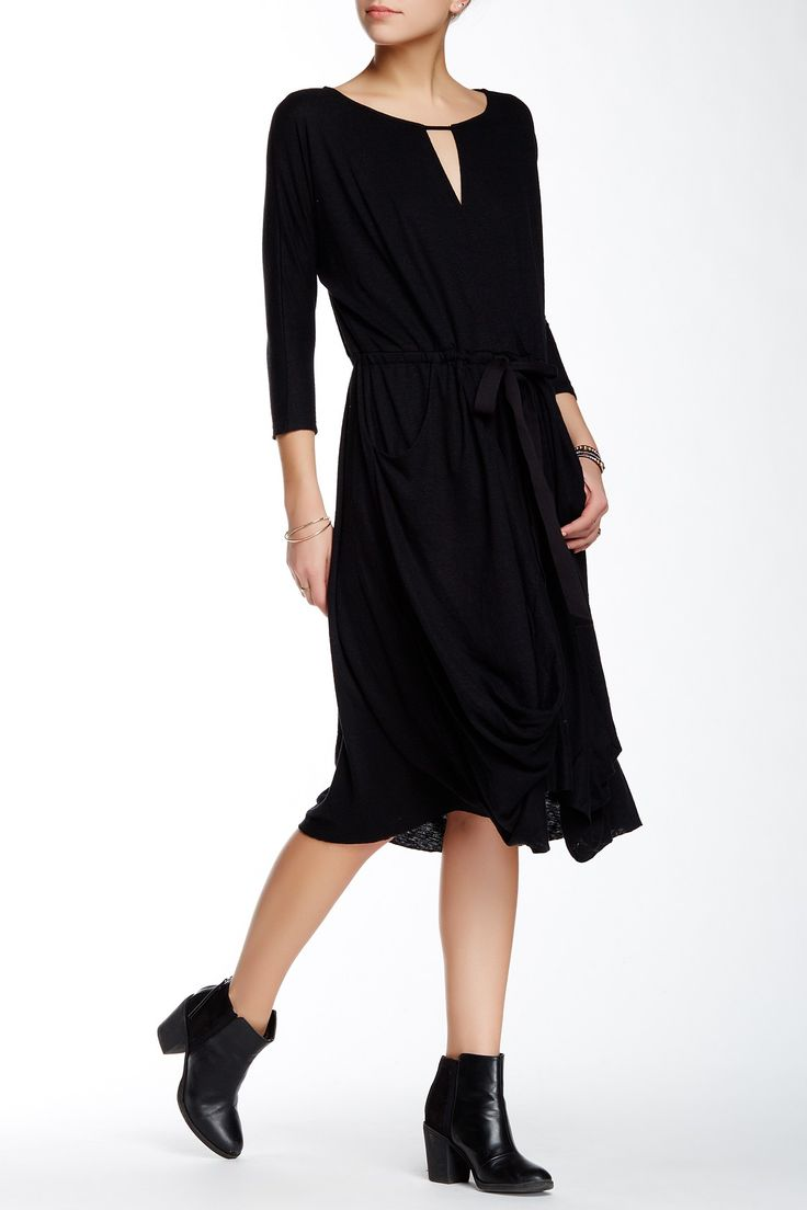 Easy Squeezy Linen Blend Dress by Free People on @nordstrom_rack