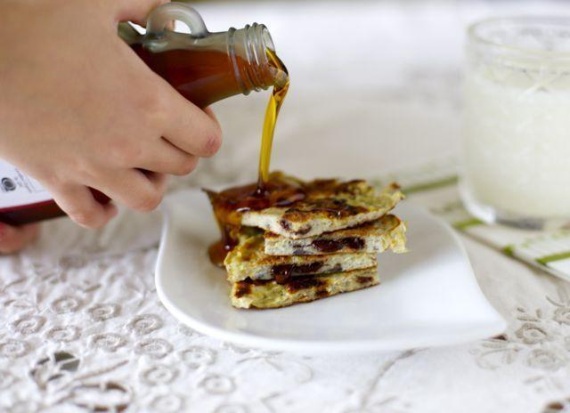 Pancakes de plátano (2 ingredientes)   En mi cocina hoy