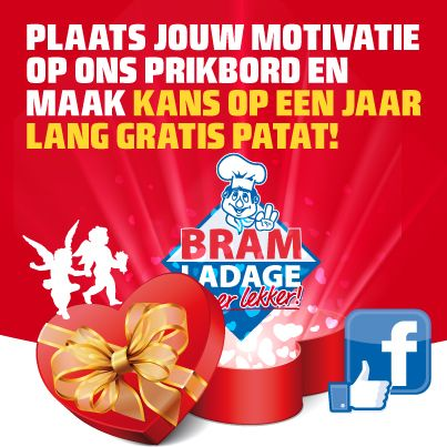 Valentijn 2013 Facebook Actie @ Bram Ladage
