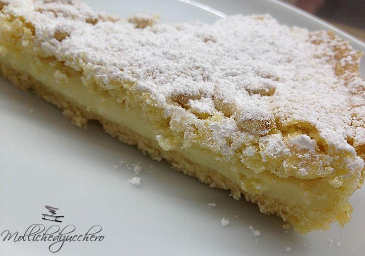 TORTA DELLA NONNA: un dolce meravigliosamente buono, che sa di casa e di coccole :-)