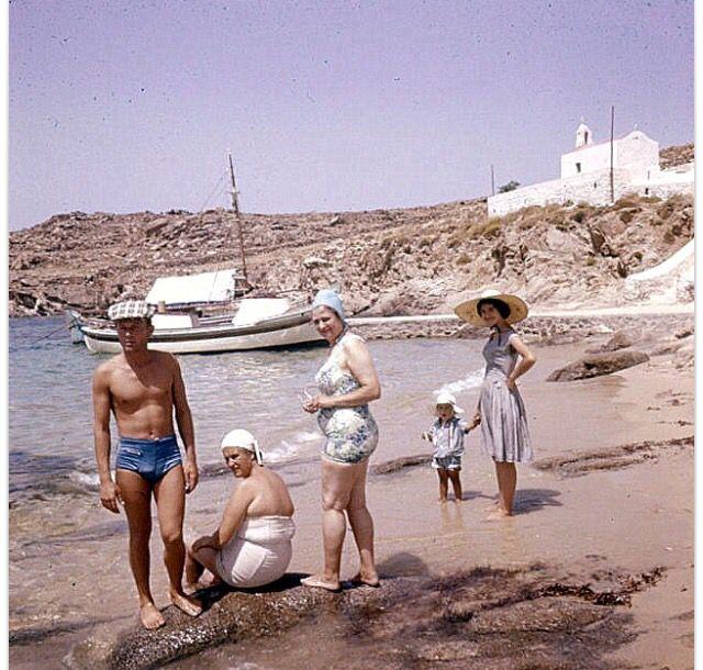 Mykonos , Saint #Stefanos beach,1961