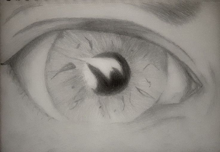 Eye drawing.