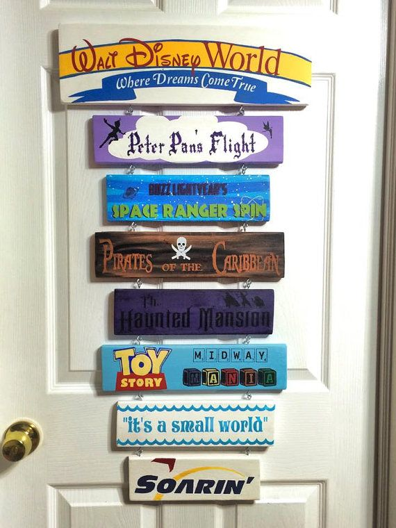 Disney Find - Custom Made Disney Signs