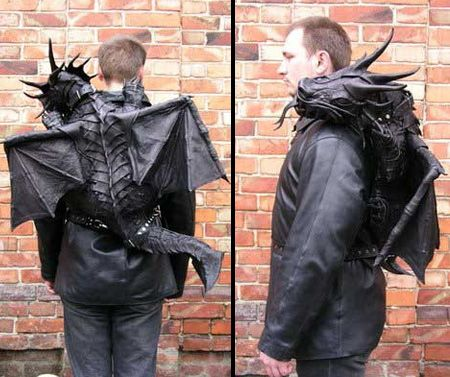 Dragon backpack - WANT!