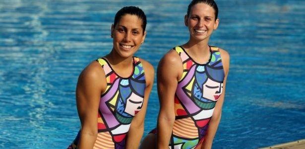 Dupla Lara Teixeira e Nayara Figueira preferem manter o foco no esporte