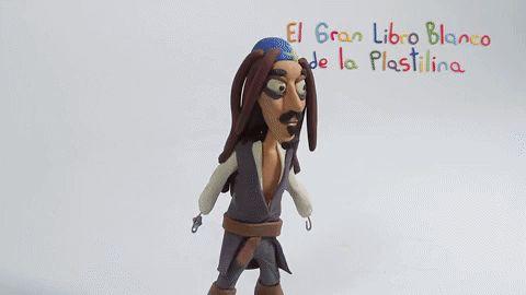 Jack Sparrow en plastilina