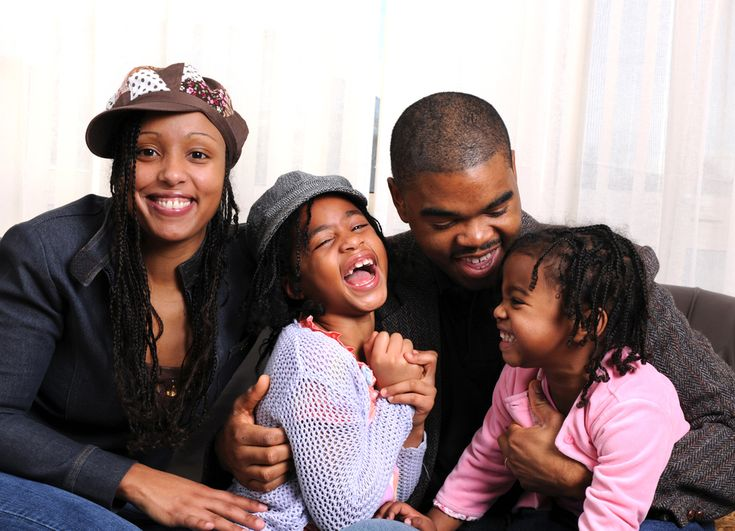 Image Gallery happy black family life