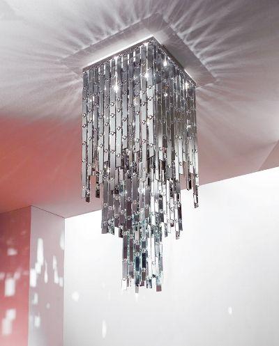 glitter on wall   Modern Chandelier from Axolight – Glitter Chandelier glamour