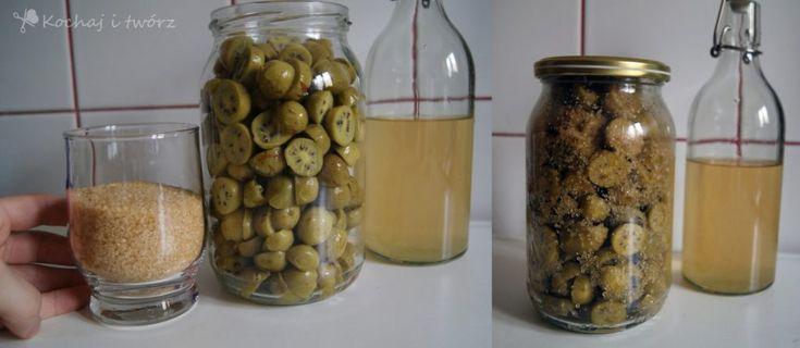 """nalewka z """"mini kiwi"""" actinidia infusion"""