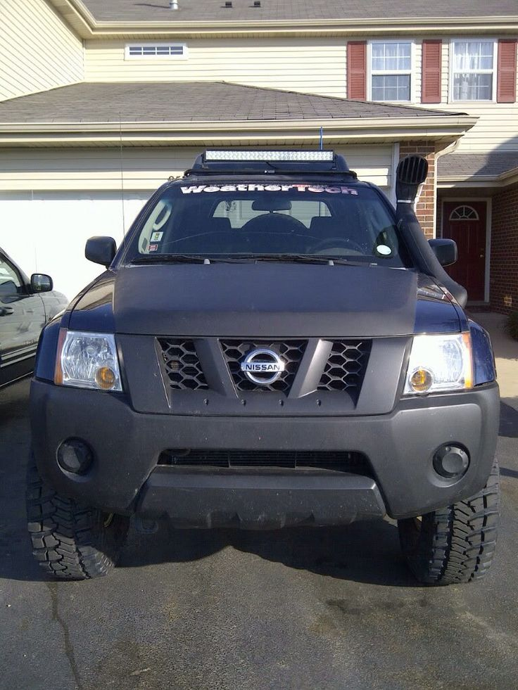 21 Quot Performance Series Light Bar On The Roof Of A Nissan