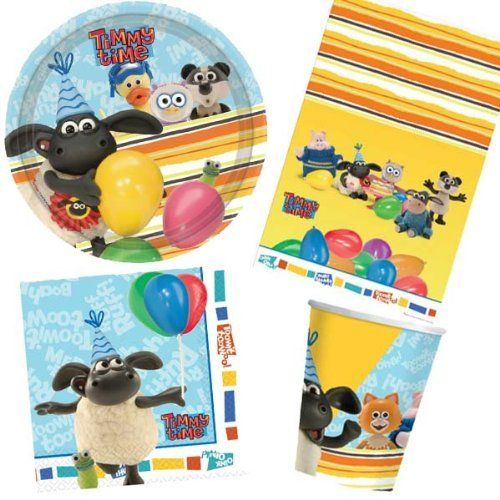 Timmy Time Party Tableware Pack