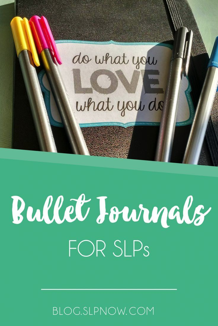 Bullet Journals for SLPs 21 best Spartan