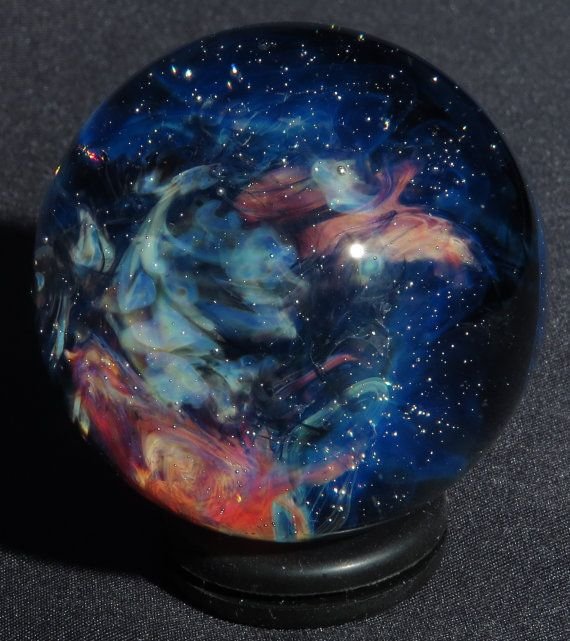Nebula Glass Marble