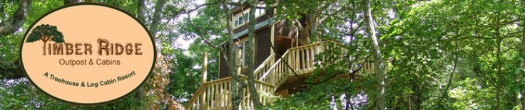 Timber Ridge Outpost & Cabins | Rent a Treehouse or Log Cabin near Shawnee National Forest, Illinois