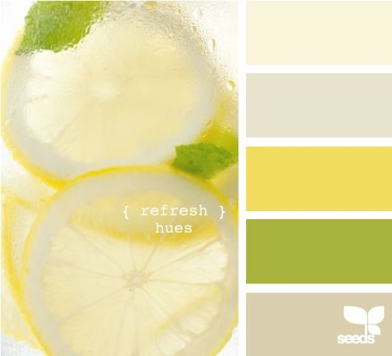 lemon paint colorsLemon Limes, Kitchens Colors, Refreshing Hues, Design Seeds, Room Colors, Colors Palettes, Colors Schemes, Colors Swatches, Painting Colors