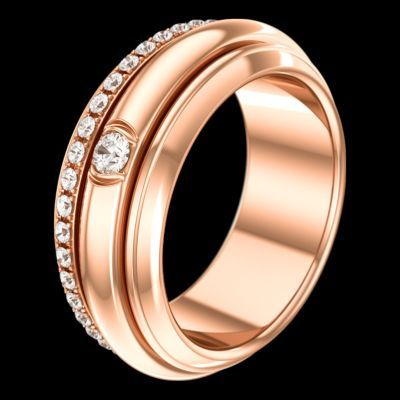 핑크 골드 다이아몬드 링 - 피아제 주얼리 G34P8A00