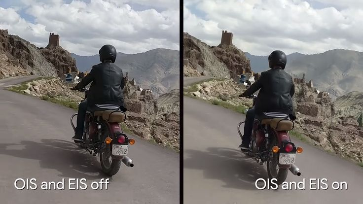 Googles Pixel 2 combines optical and electronic image stabilisation for rock steady video