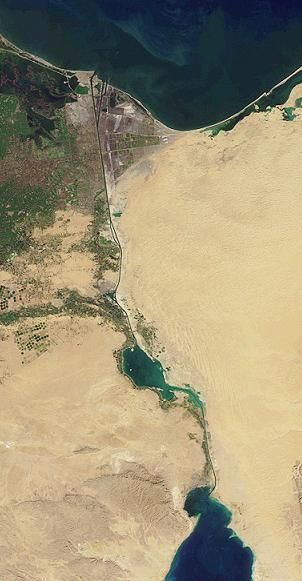 November 17th 1869 CE – The Suez Canal is Opened - On this day in History