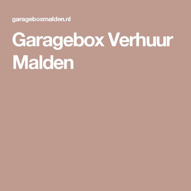 Garagebox Verhuur Malden