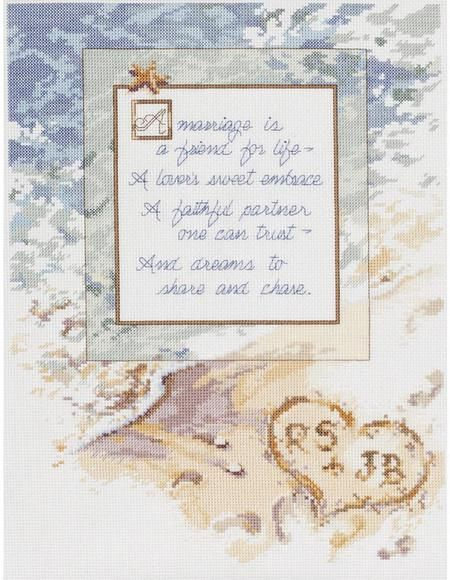 A Marriage Is... - Cross Stitch Kit