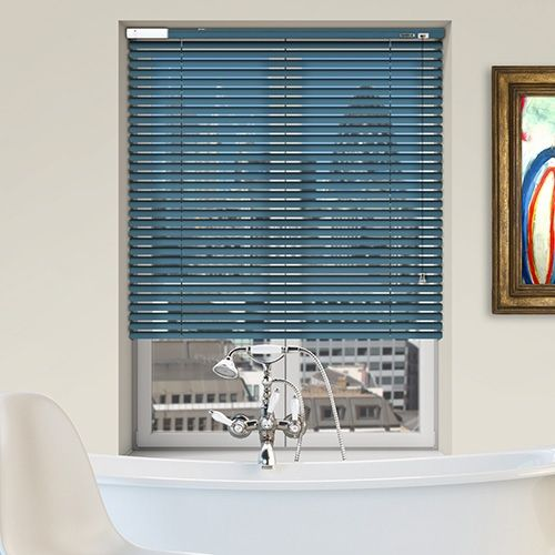 Controliss 6V DC battery Powered (Tilt-Only) Soho Satin Liberty Venetian Blind. #Home #HomeDecor #InteriorDesign #Decor #VenetianBlinds  #CreateYourHome #BudgetBlinds #WindowShades #Window  #Design #Blind #WindowCoverings #Windows #MadeinUK