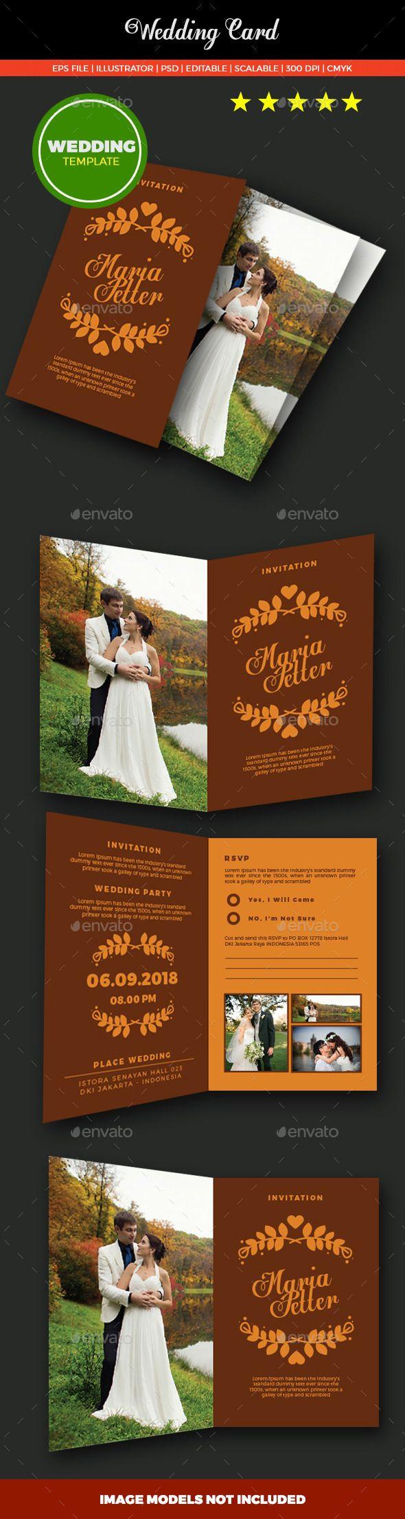 Rea Wedding Card