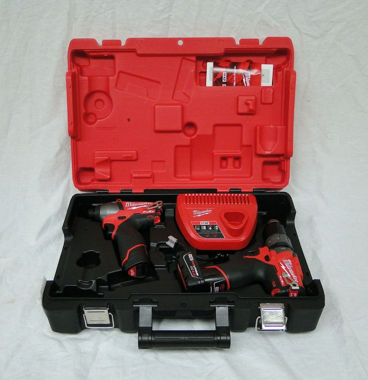 New Milwaukee 2597-22 M12 FUEL Hammer Drill Impact Driver Combo Kit Cordless XC4 #Milwaukee #New #2597-22 #M12 #FUEL #Hammer #Drill #Impact #Driver #Combo #Kit #Cordless #XC4 #Hand #Tool 0404