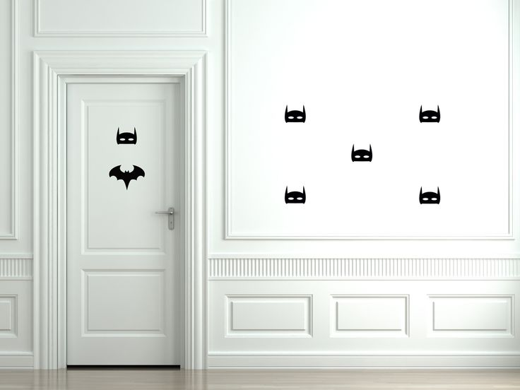 Removable stickers by BC Magic Wallpaper - Batman has returned! Watch out for the man with a mask!