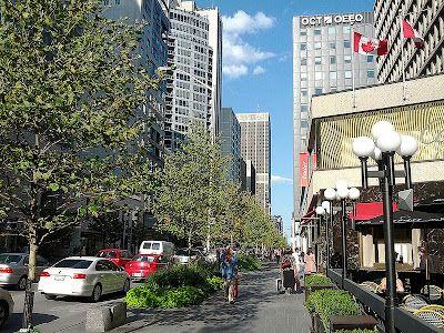 Bloor Street Redevelopment in Toronto's Yorkville Section