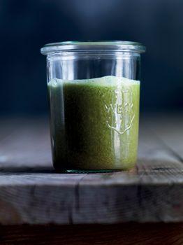 Juiced grønkål med venner