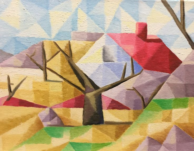 A personal favorite from my Etsy shop https://www.etsy.com/listing/487426314/original-cubist-painting-11x14-oil-on