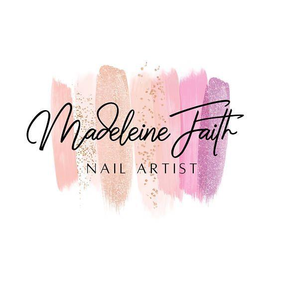 Nail Artist Beauty Makeup Logo Design, Nail Salon Logo