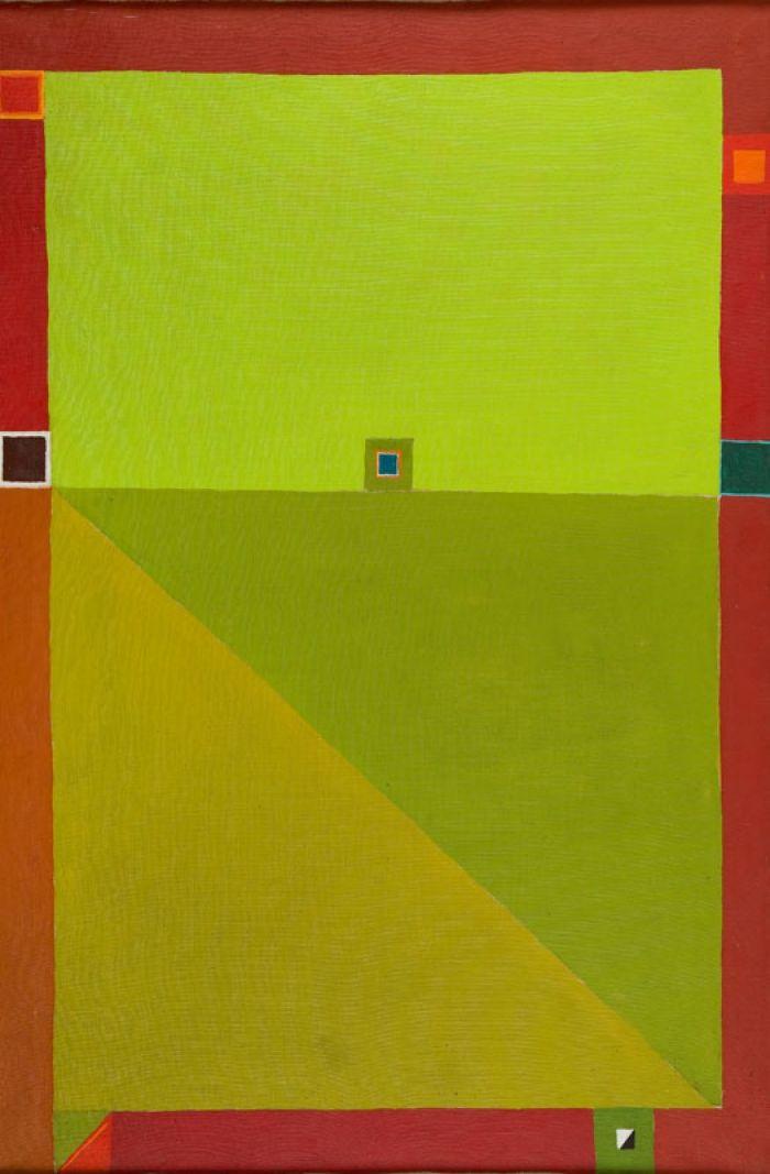 Jerzy Nowosielski - Kompozycja abstrakcyjna 1968