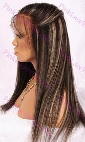 dark hair highlights
