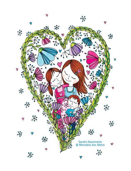 Beijos de Algodão: Feliz Dia da Mãe!