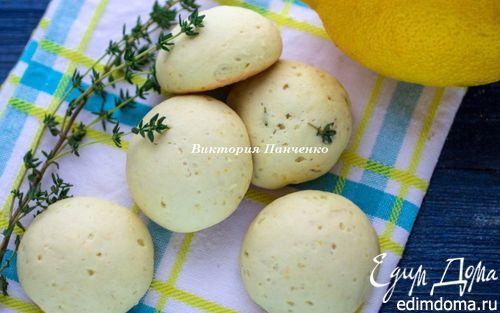 Лимонное печенье с тимьяном   Кулинарные рецепты от «Едим дома!»