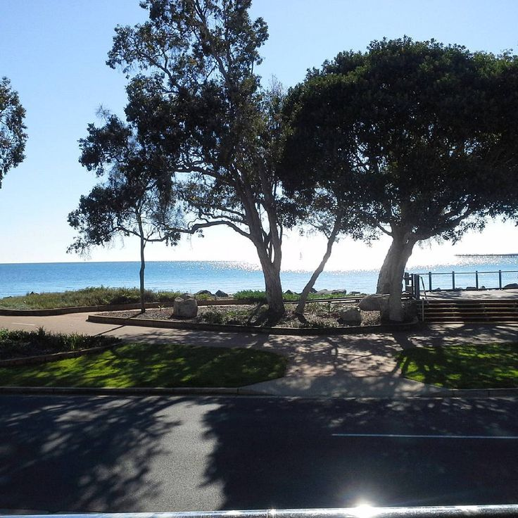 The morning view from Salt Cafe  #herveybay